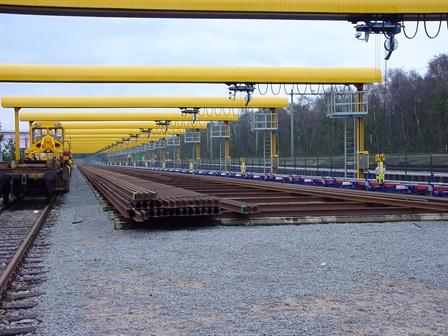 Portalkräne - Railpro  Hilversum - Hilversum
