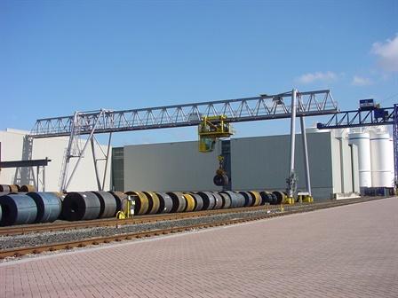 Gantry crane - Wuppermann Staal BV - Moerdijk