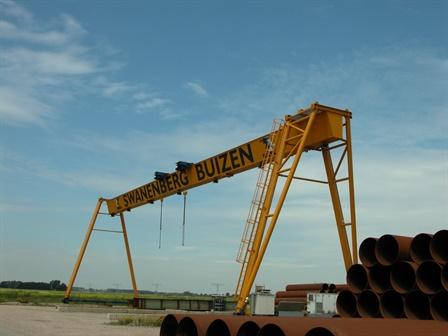 Gantry crane - HBG – NBM - van Hatum Blankevoort