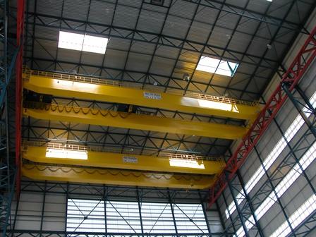 Pont roulant suspendu - Koninklijke Schelde Groep - Vlissingen