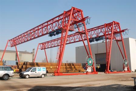 Portaalkraan - Arcelor BV - Dintelmont