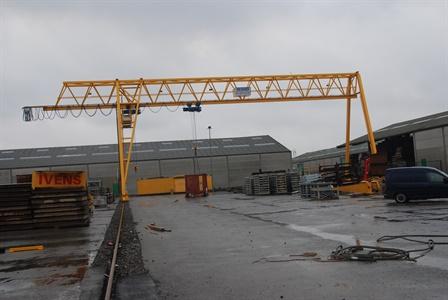 Gantry crane - Van Dijk Beton BV - Giessendam