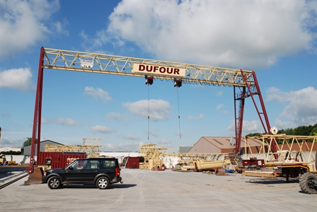 Portalkräne - Dufour SA. - Doornik / België + Parijs