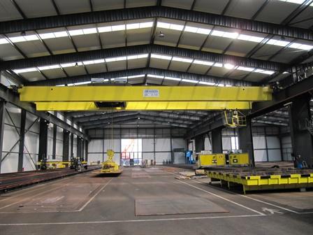 Brückenkräne Europe Steel center - Moerdijk / NL