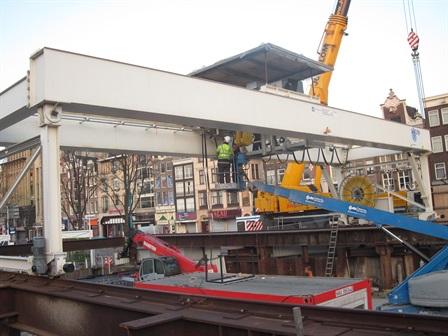 Gantry crane - duravermeer saturn - Amsterdam