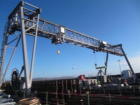 Gantry crane - Ways & Freytag / Shell - Ireland