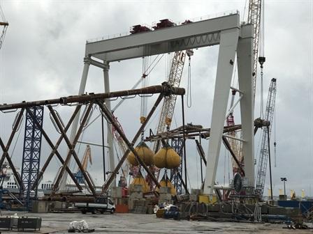 Gantry crane - Smulders - Newcastle
