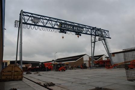 Gantry crane - Sterk Beton BV - Alkmaar
