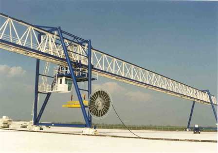 Gantry crane - VBI Huisen Beton - Huissen ( Arnhem)