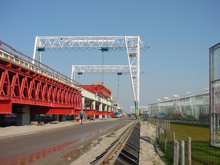 Portalkräne - HSL Combinatie Zuid Holland Midden - Zuid Holland Midden