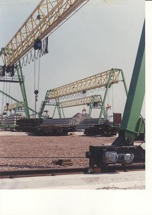 Gantry crane - Voorbij Prefab Beton BV - Amsterdam